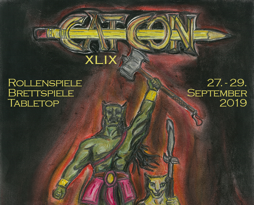 Flyer der CAT-Con XLIX