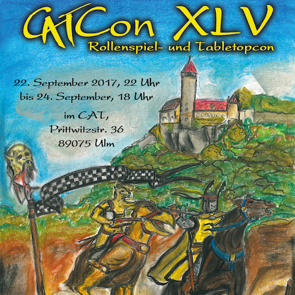 Flyer der CAT-Con XLV